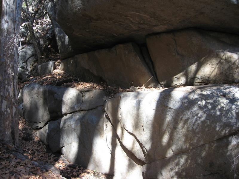 cool looking rock overhang