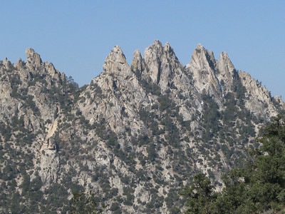 crags of Lamont Peak