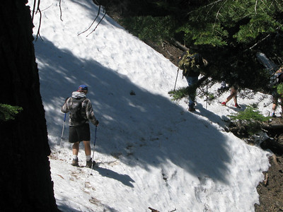 nathan traverse in snow