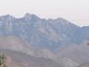 closer view of the peak