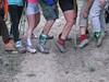 7 of 12 wearing dirty girl gaiters