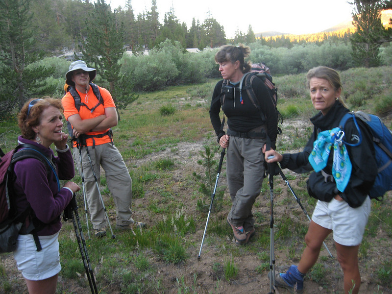early light at first creek crossing