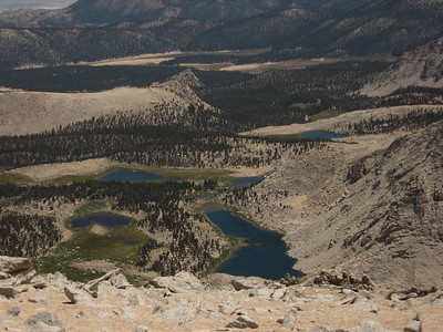 Horseshoe Meadow and Cottonwood Lakes