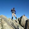 Tom on the summit of Pinyon