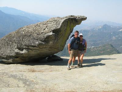 Lisa and I at Hanging Rock