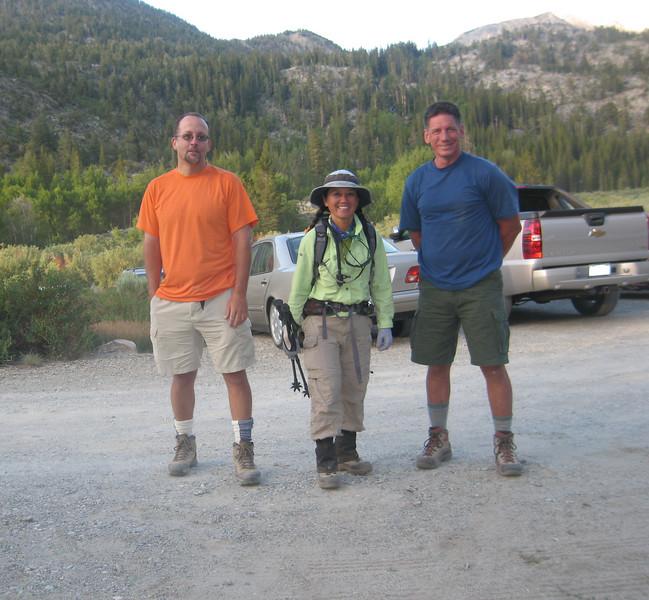 Sierragator, Snownymph, & Tomcat