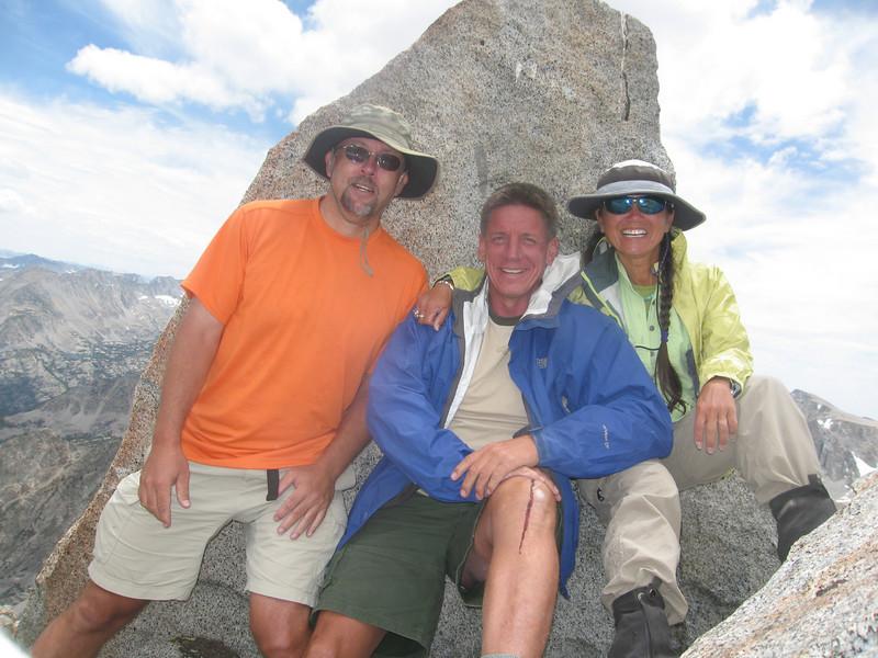 3 on the summit