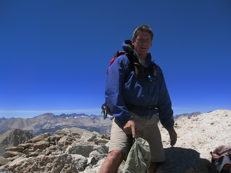 Tom on summit