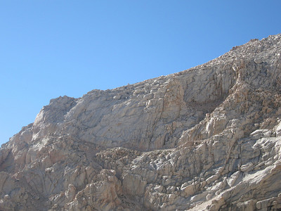 looking up at the smiley face route of Thor