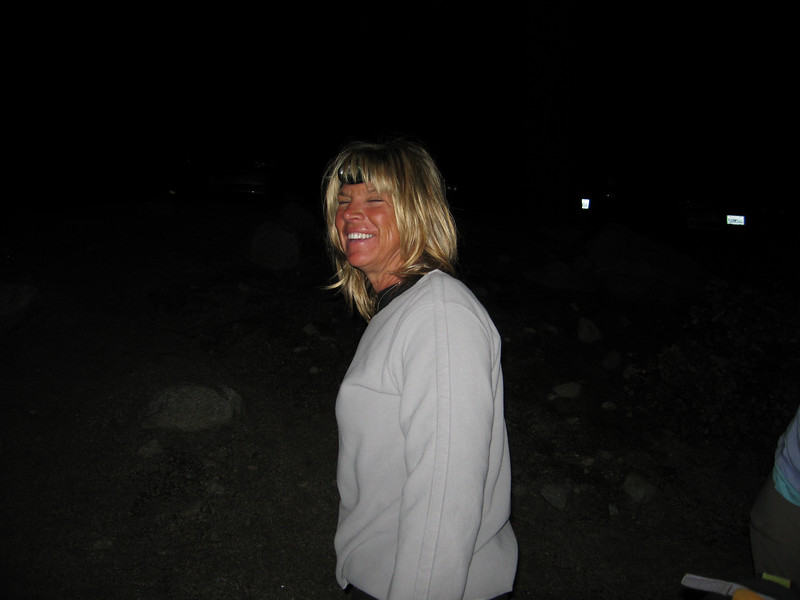 Trailtrekker wished us a great sendoff at 4:30 - then drove home