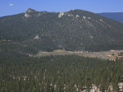 Shark Nose Ridge and Mulkey Meadows