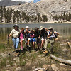 the group at Muir Lake