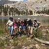 the group at Muir Lake