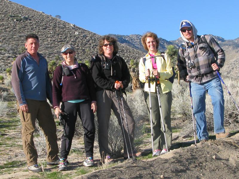 Tom, Alice, Rachel, Kathy and Nathan