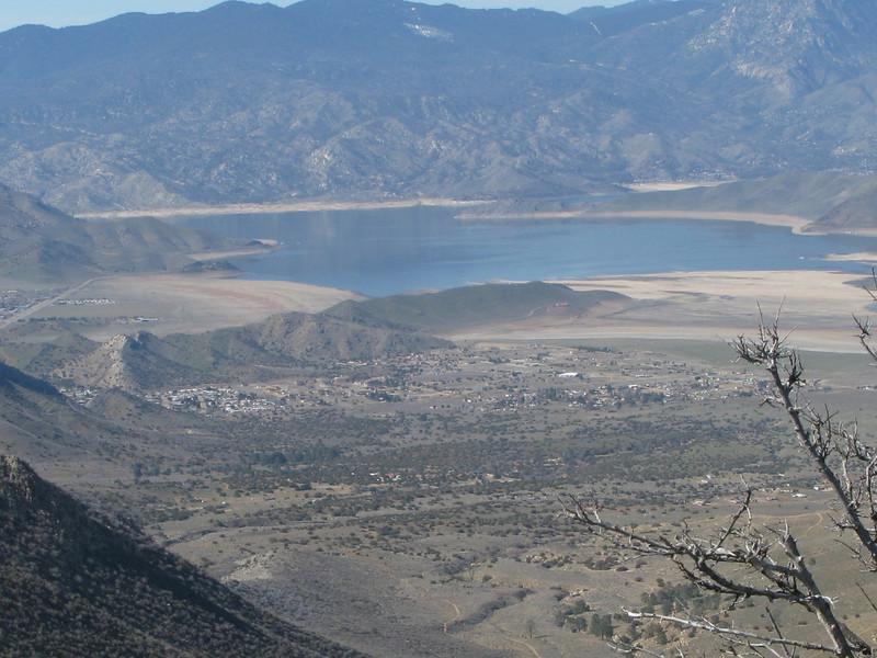 a nice view of Lake Isabella
