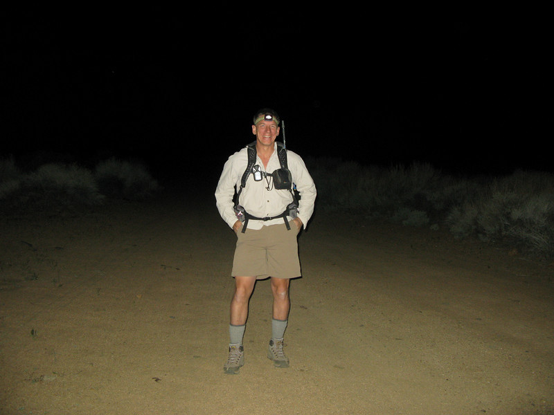 me at the trail head