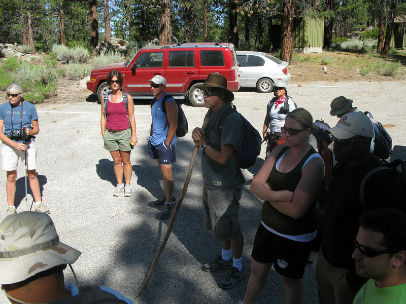 gathering at Horse Meadows Campground