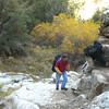 some minor boulder scrambling