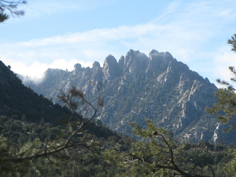 Lamont Peak crags