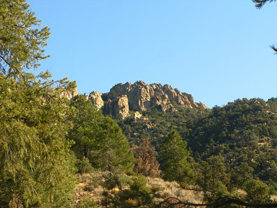 crags near our route to Sawtooth