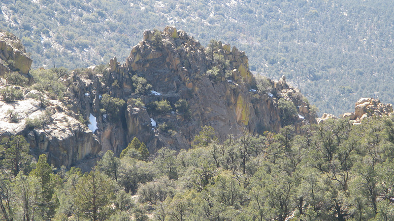 crags stand out distinct