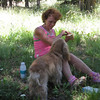 Kathy and Lady