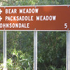 scouting roads for exit from Packsaddle Grove