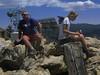 Bob and Jill on the summit