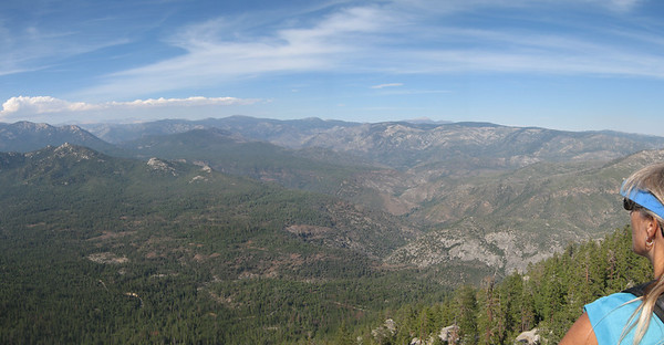 pano of the Kern Pleateau