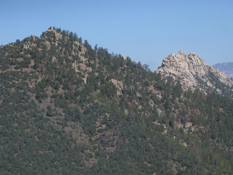 Lamont East and Lamont Peak