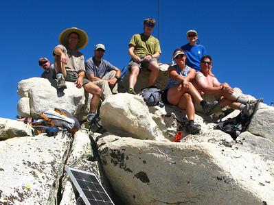WPSMB Annual Group Hike - Candlelight Peak 07-31-10
