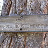 pick up the Rock House Trail from Little Manter Meadow