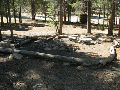 overnight camp east of Manter Meadow