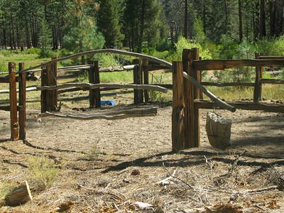 cowboy camp at Manter Meadow