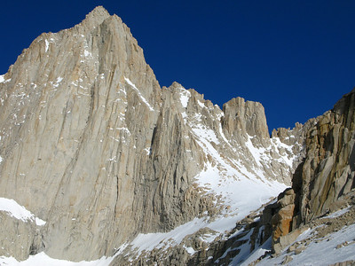 Mt. Whitney and the mountaineers chute