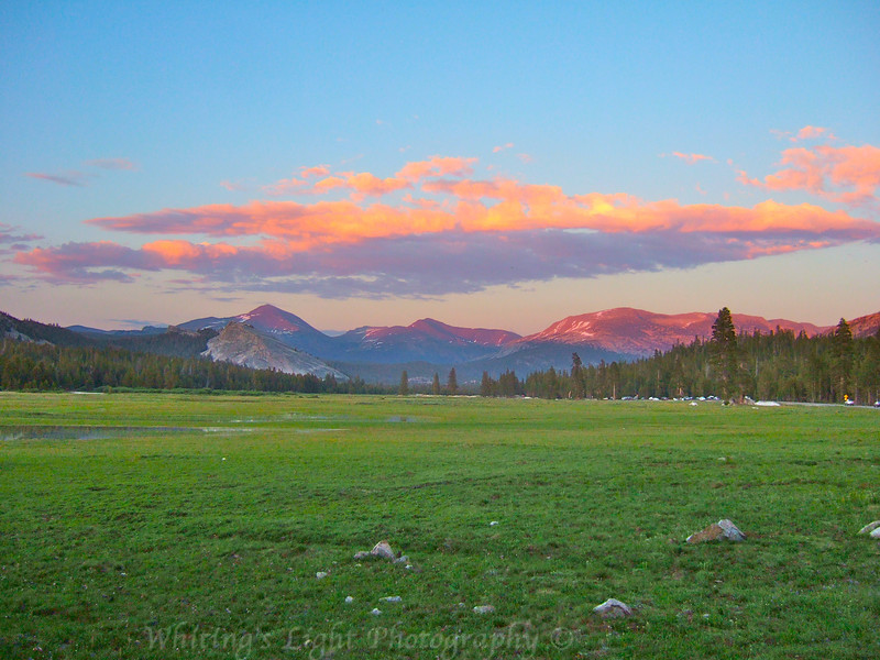 Tuolumne Meadows Alpenglow.