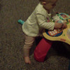 standing and playing