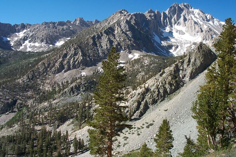 Just west of Independence Peak is University Peak, 13,632 feet.