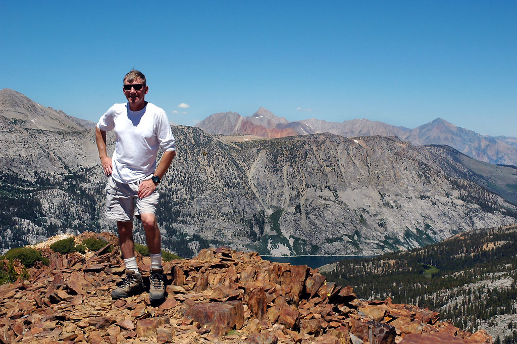 Me on the summit of Chocolate Peak at 11,682 feet.
