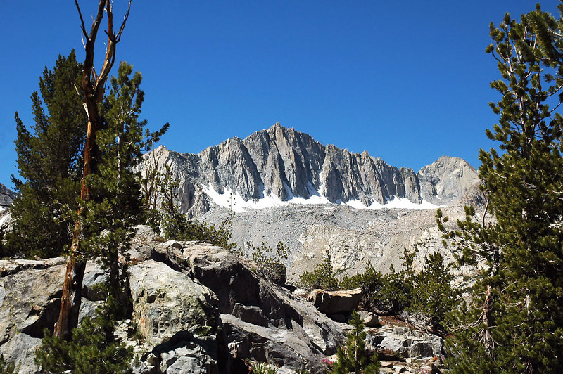 Another view of Mount Goode, plan to climb it next weekend.
