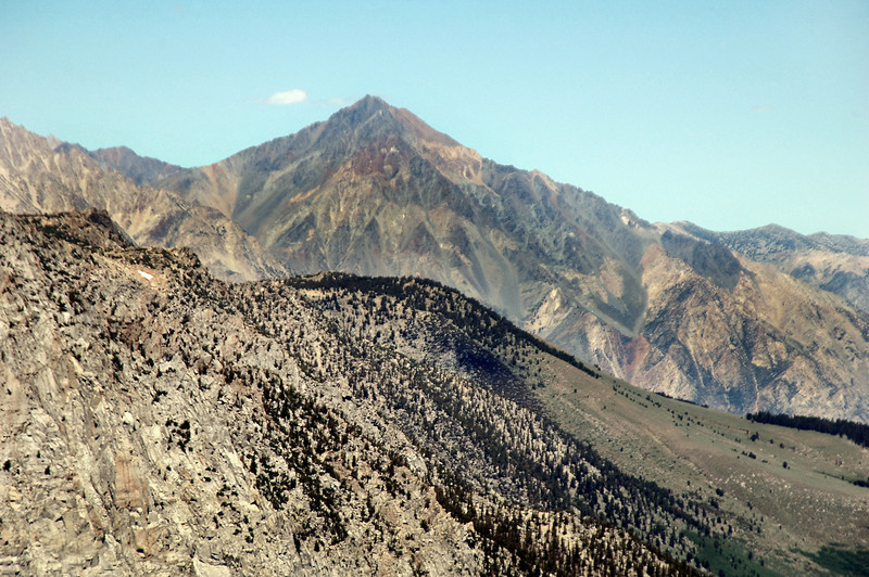 Mount Tom at 13,652 feet.