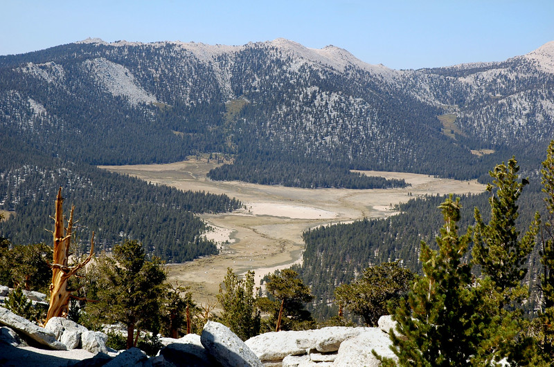 Zoomed in on Horseshoe Meadows.