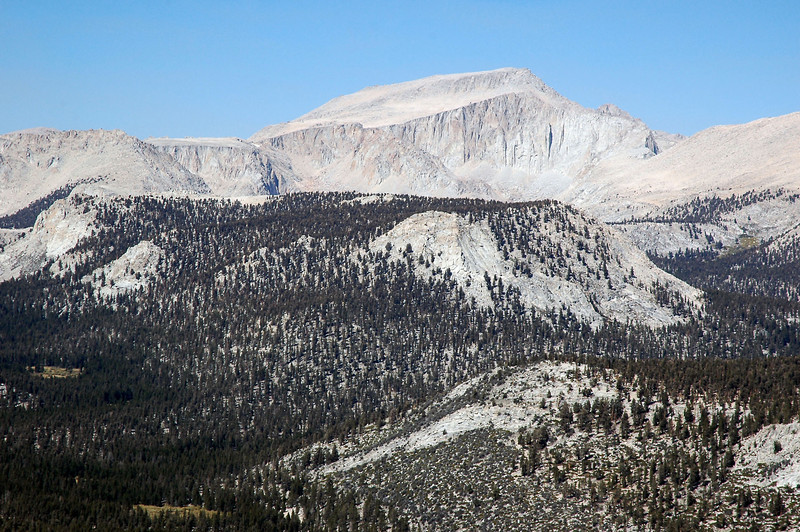Closer view of Mount Langly.