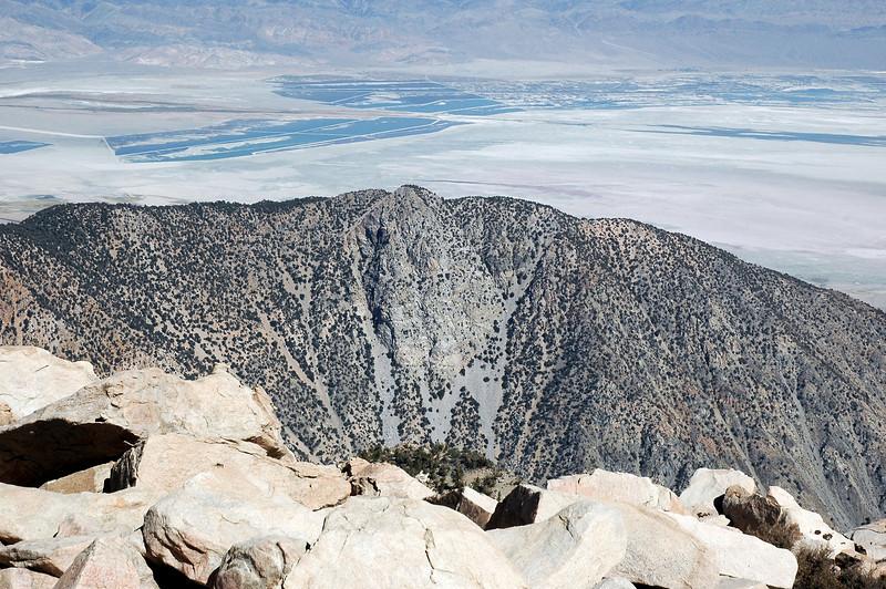 Closer view of Timosea Peak, one mean little peak.