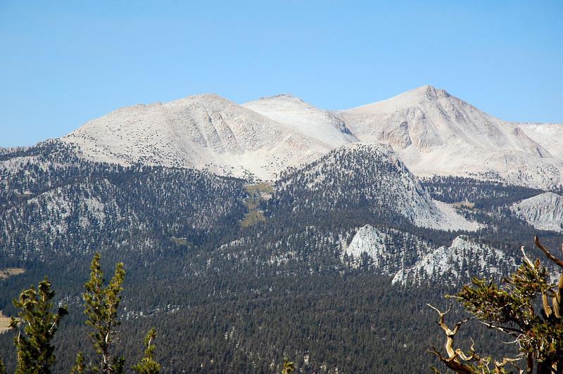 Trailmaster Peak, Peak 12,525 and Cirque Peak.