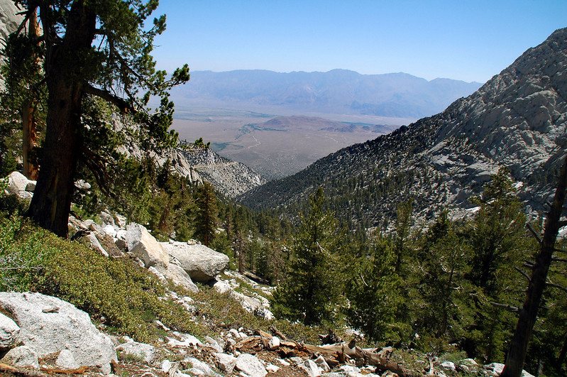 Another view of the valley from higher up the trail.