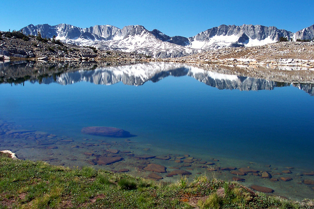Another shot of Square Lake and the Glacier Divide.