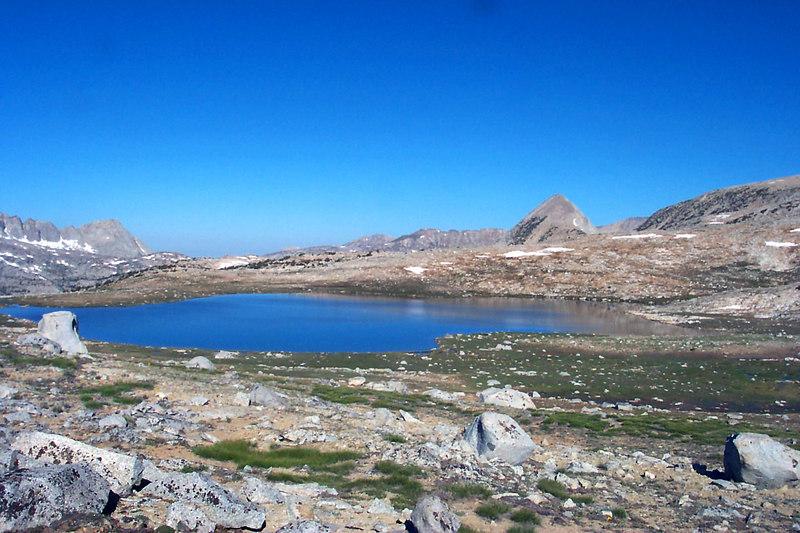 One last look at Mesa Lake and Pilot Knob.