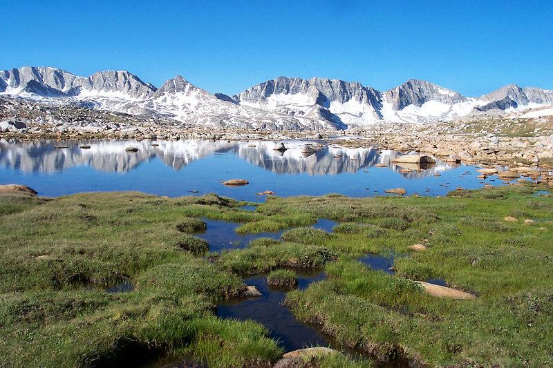 A pond near Desolation Lake.