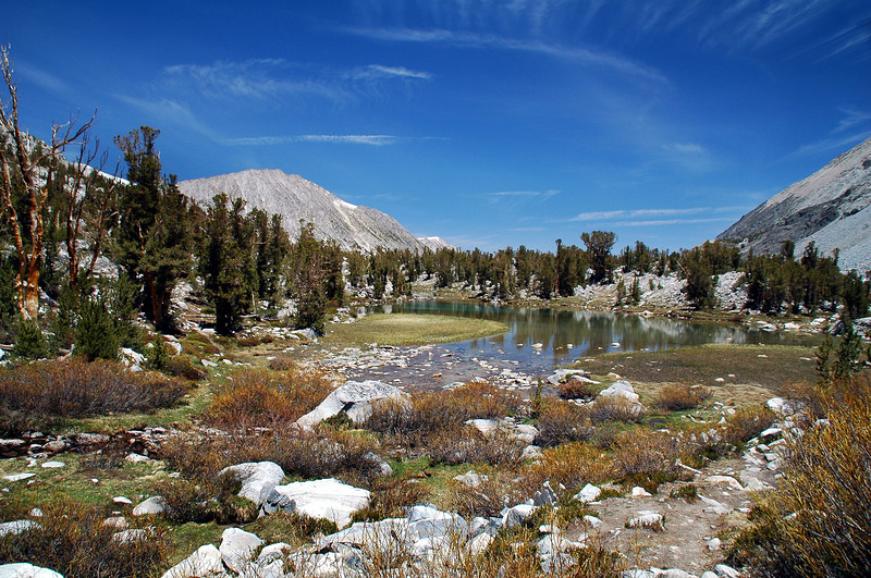 Another of the Gem Lakes with Mount Starr.
